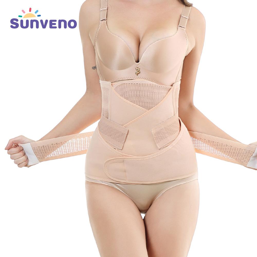 Dropship 3in1 Belly / Abdomen / Pelvis Postpartum Belt Body Recovery Shapewear Belly Slim Waist Cinchers Corsé de entrenador de cintura transpirable