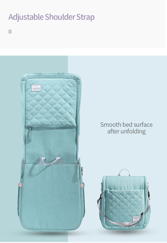 Dropship SUNVENO, bolsa de cama portátil para bebé, cuna de viaje plegable para recién nacidos, bolsa de mano para nido, bolsa de pañales, cama para bebé 0-6M