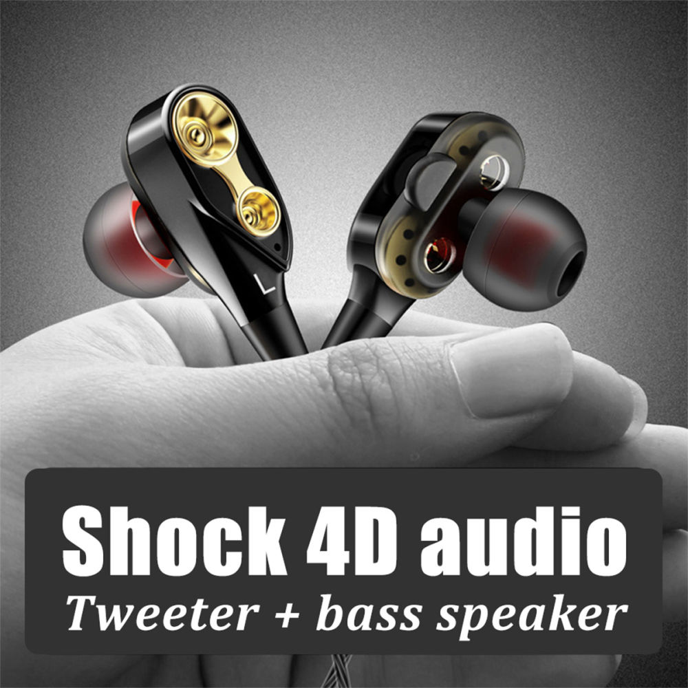 Shop for VES06 Music Earphone 4D Stereo HIFI In Ear Wired Headset