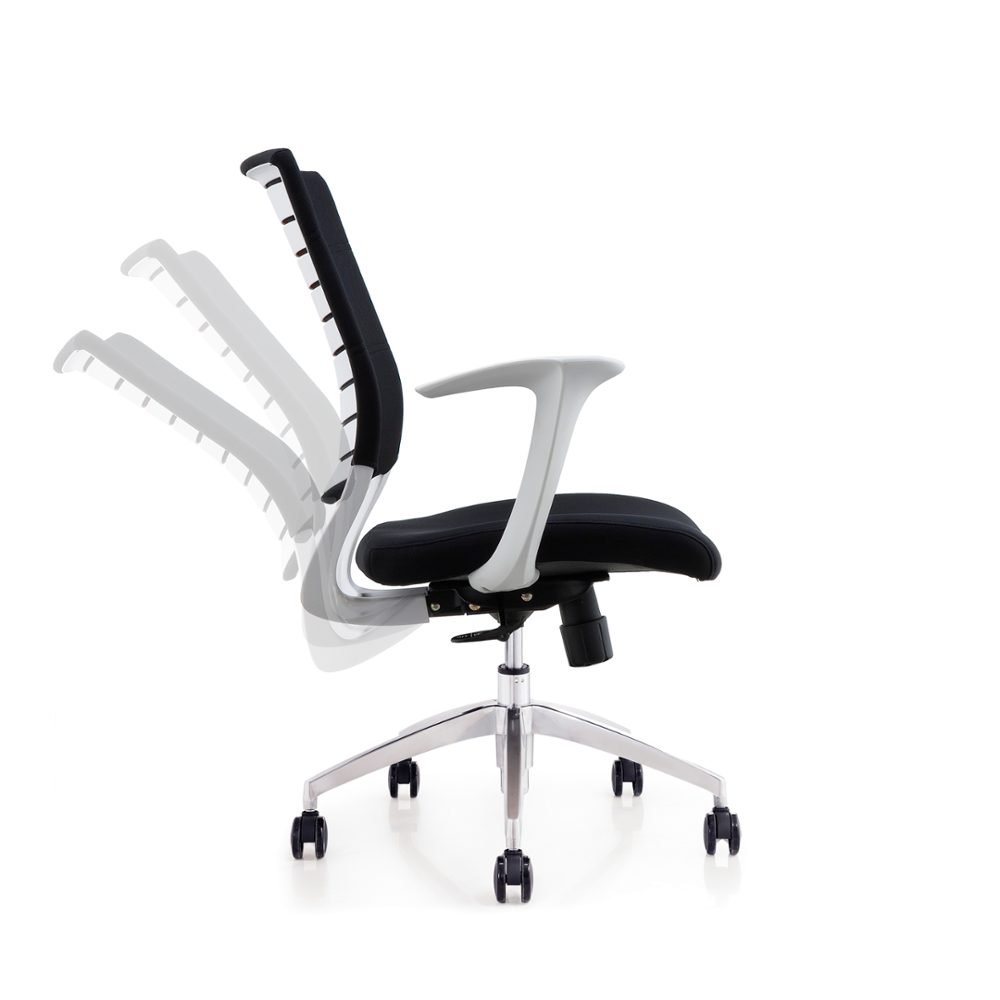 white modern office chair white rolling. Advantage, Comfortable, Durable, Modern. White Modern Office Chair Rolling R