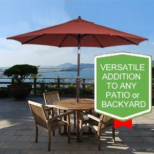 Like A Tropical Breeze, The Sundale Outdoor 8.2 Ft. Aluminum Market Patio  Umbrella Brings A Welcome Touch Of Cool To Your Outdoor Space.