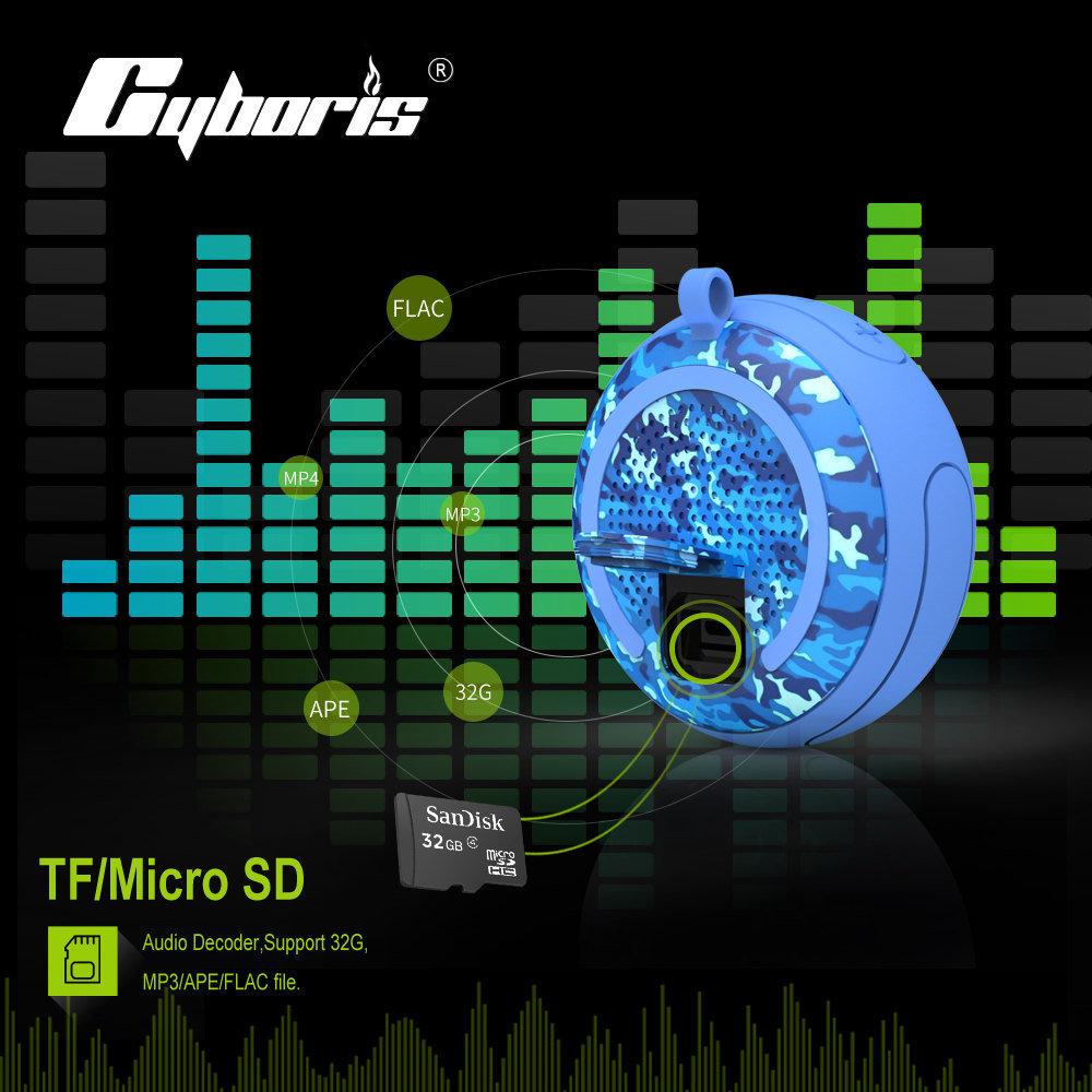 Shop For Cyboris Ipx7 Waterproof Outdoor Bluetooth Speaker