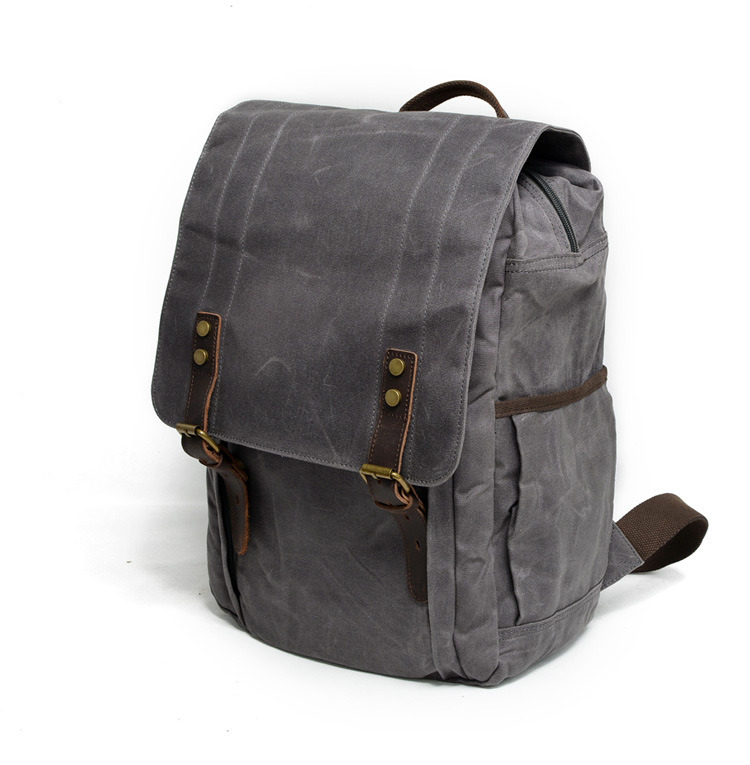 a15c150880 A well-constructed haul loop is implemented on the top of the canvas  backpack using highly durable materials that easily withstands heavy loads  without ...