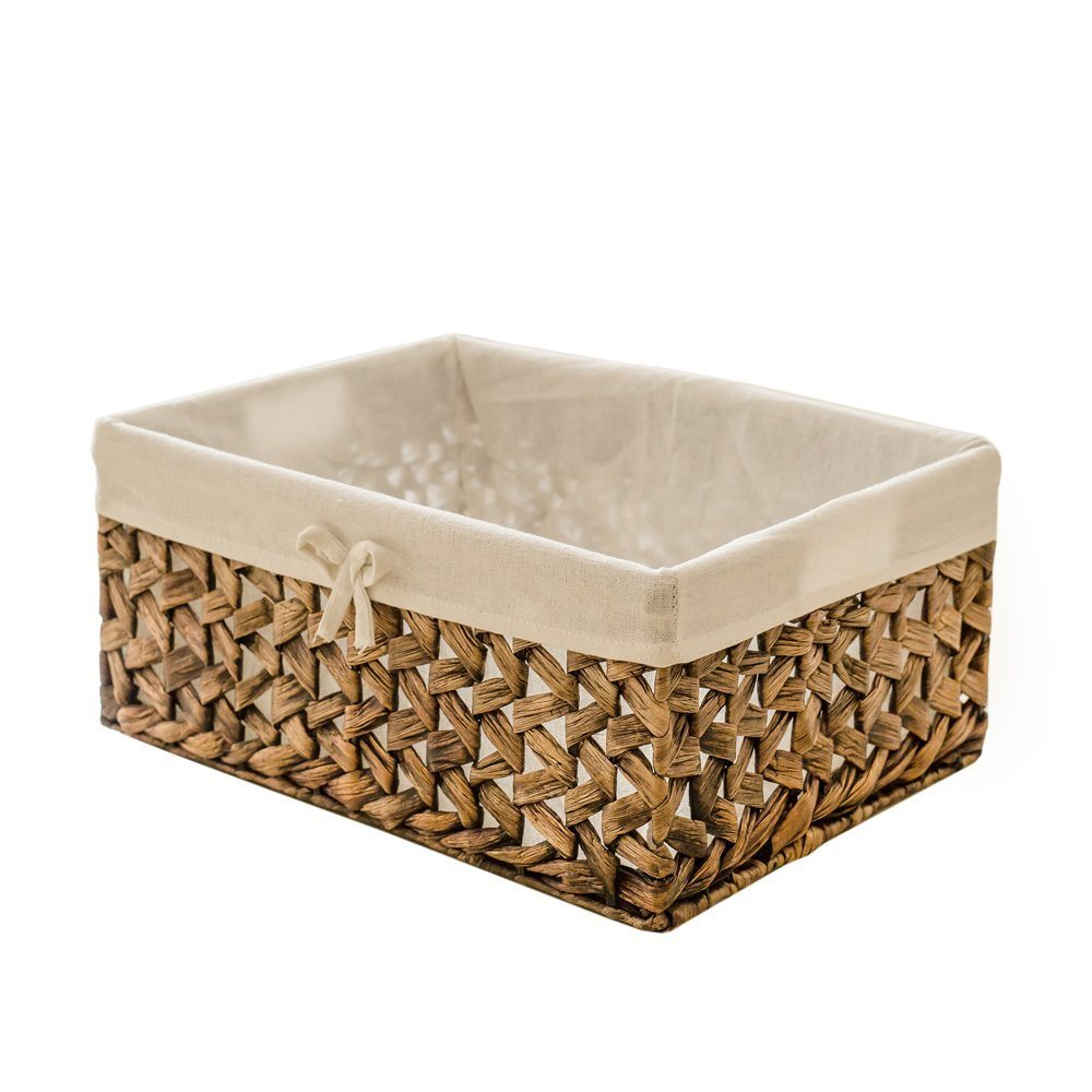 Shop for Rectangular Woven Seagrass Storage Bins With Handle ...