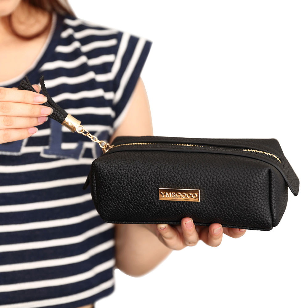 3bf248728c01 Shop for Small Makeup Bag, YM&COCO Cosmetic Bag for Purse Pencil ...