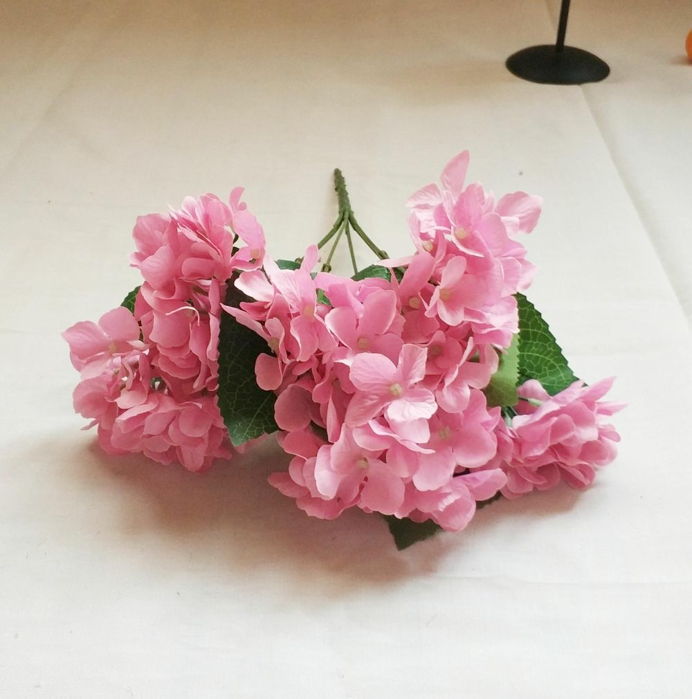 Shop for Artificial Bouquet Hydrangea for Home and Festival Wedding ...