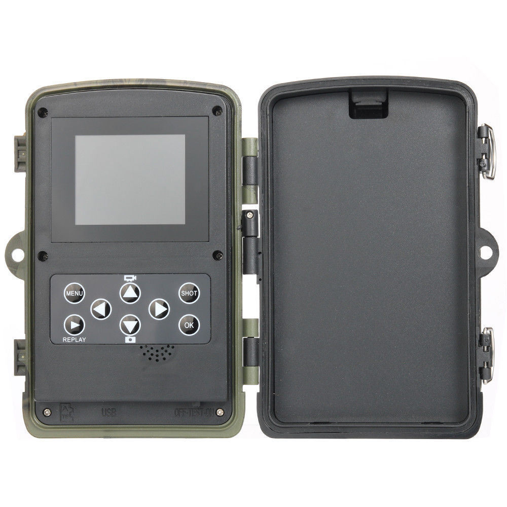 Shop For 12mp 1080p Hd Game Amp Trail Hunting Camera Night