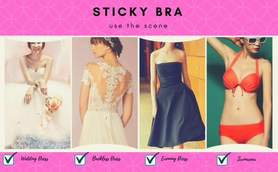 8470485cbbf0c Our strapless push up bra can match with all kinds of dresses like low-cut  outfits