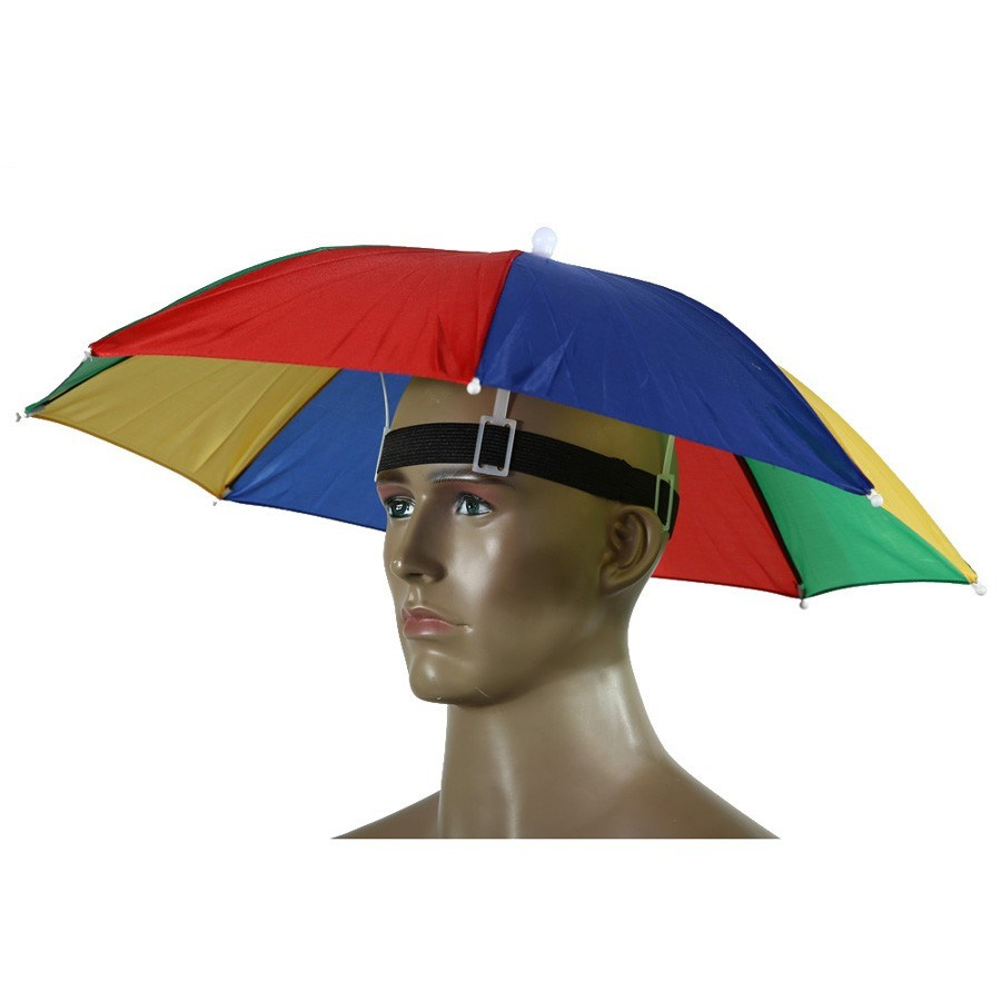 9ef0a5716 Shop for Foldable Fishing Hat Headwear Umbrella for Fishing Hiking ...