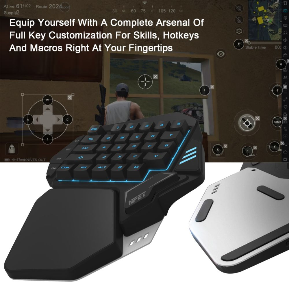 6385326b0b7 Compatible systems include Windows XP, Windows Vista, Windows 7, Windows 8,  Windows 10, Mac OS X, etc. Gaming keypad, single hand operation, special  design ...