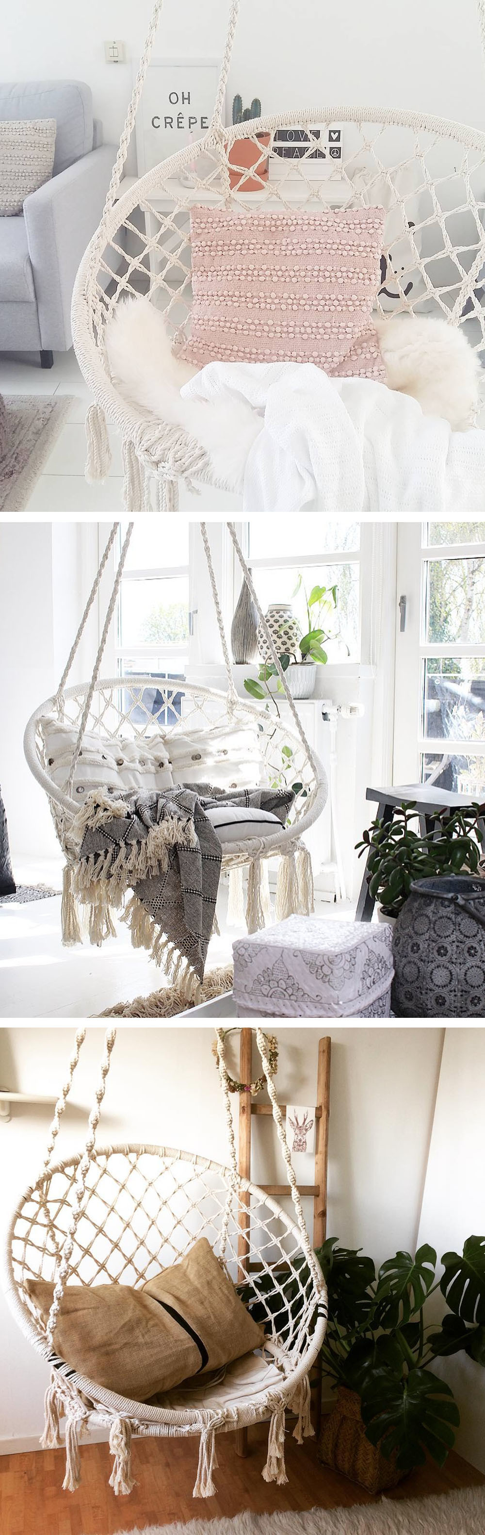 Shop for Apollo Box Milky Garden Hammock Chair at Wholesale Price on ...