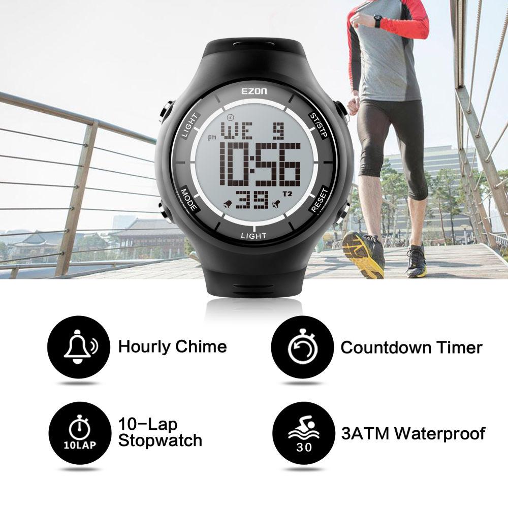 Shop For EZON Men's Digital Sport Watch Ultra Thin Outdoor