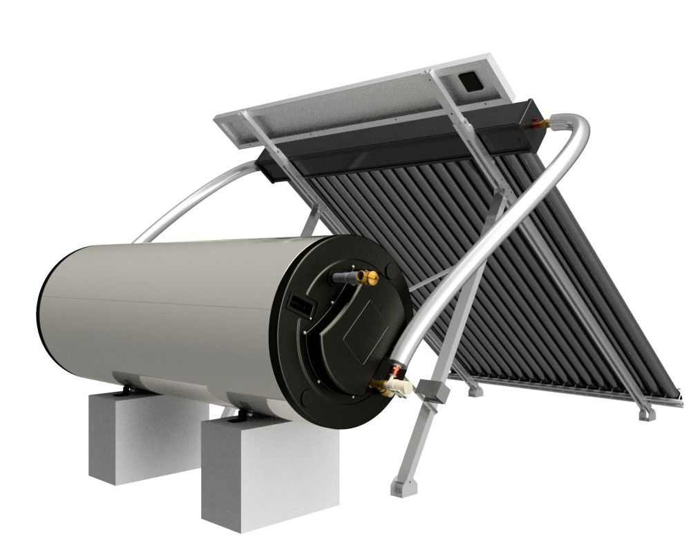 Shop for Price Negotiable! PV Powered Solar Water Heating ...