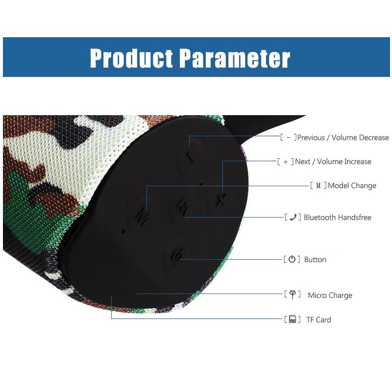 Shop for ZZYD TG113 Bluetooth Speaker V4 2 Wireless Portable