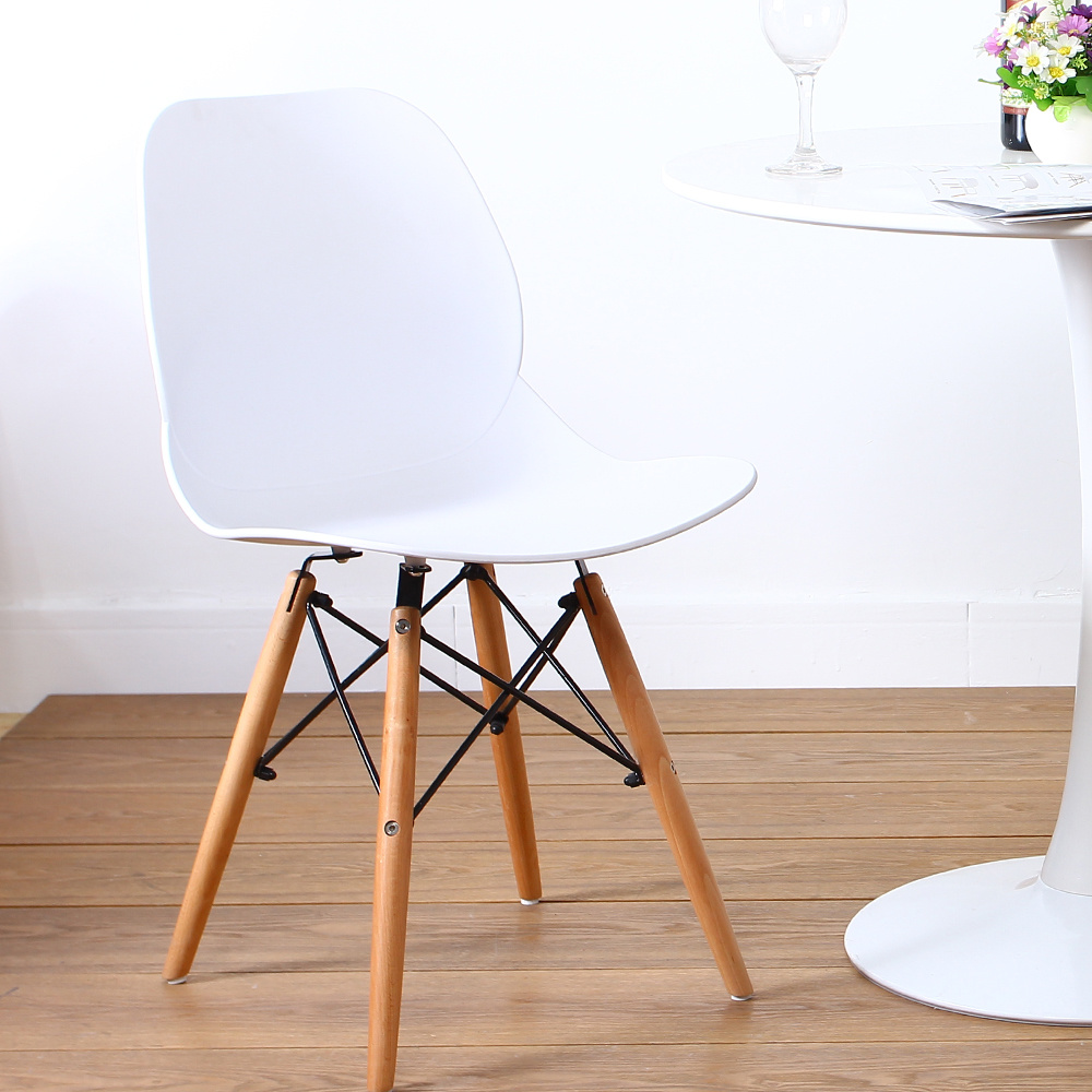 Shop For Set Of 2 Eames Dining DSW Style Chairs By Santang