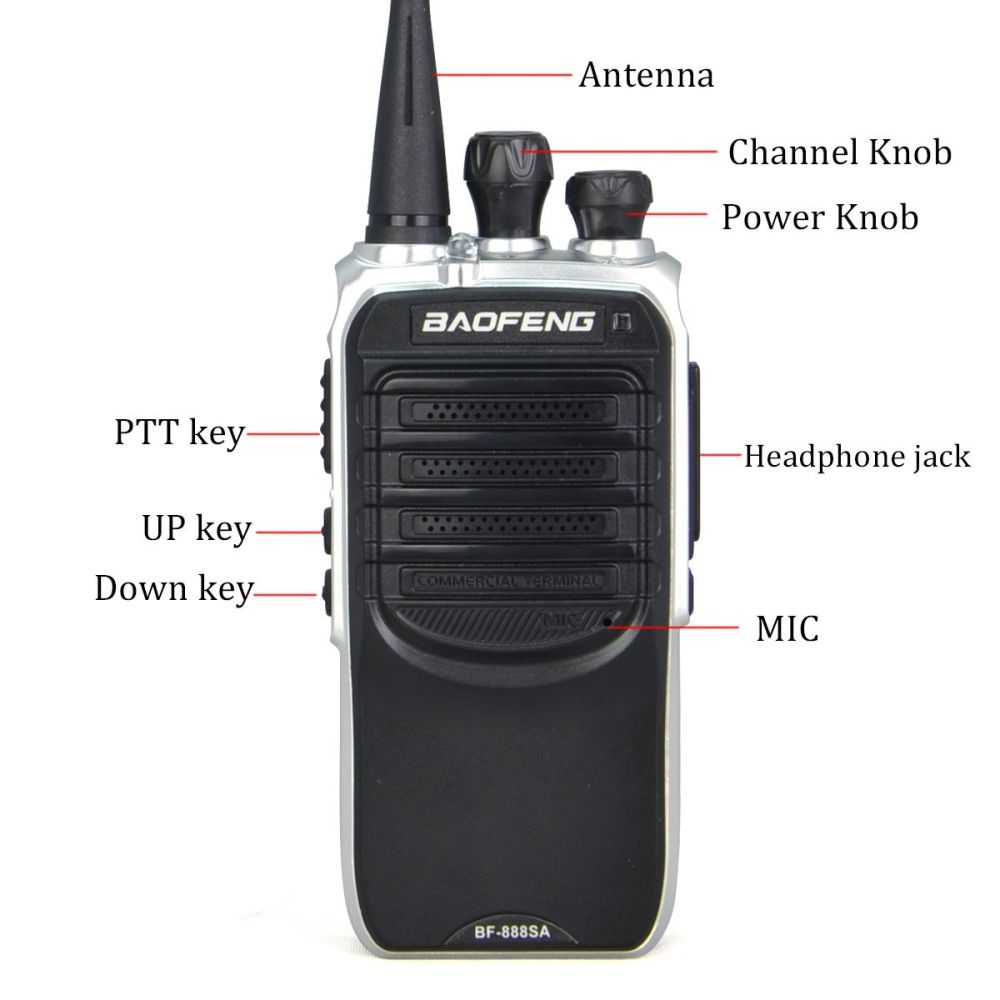 Shop for Baofeng Bf-888SA UHF Walkie Talkie Long Distance