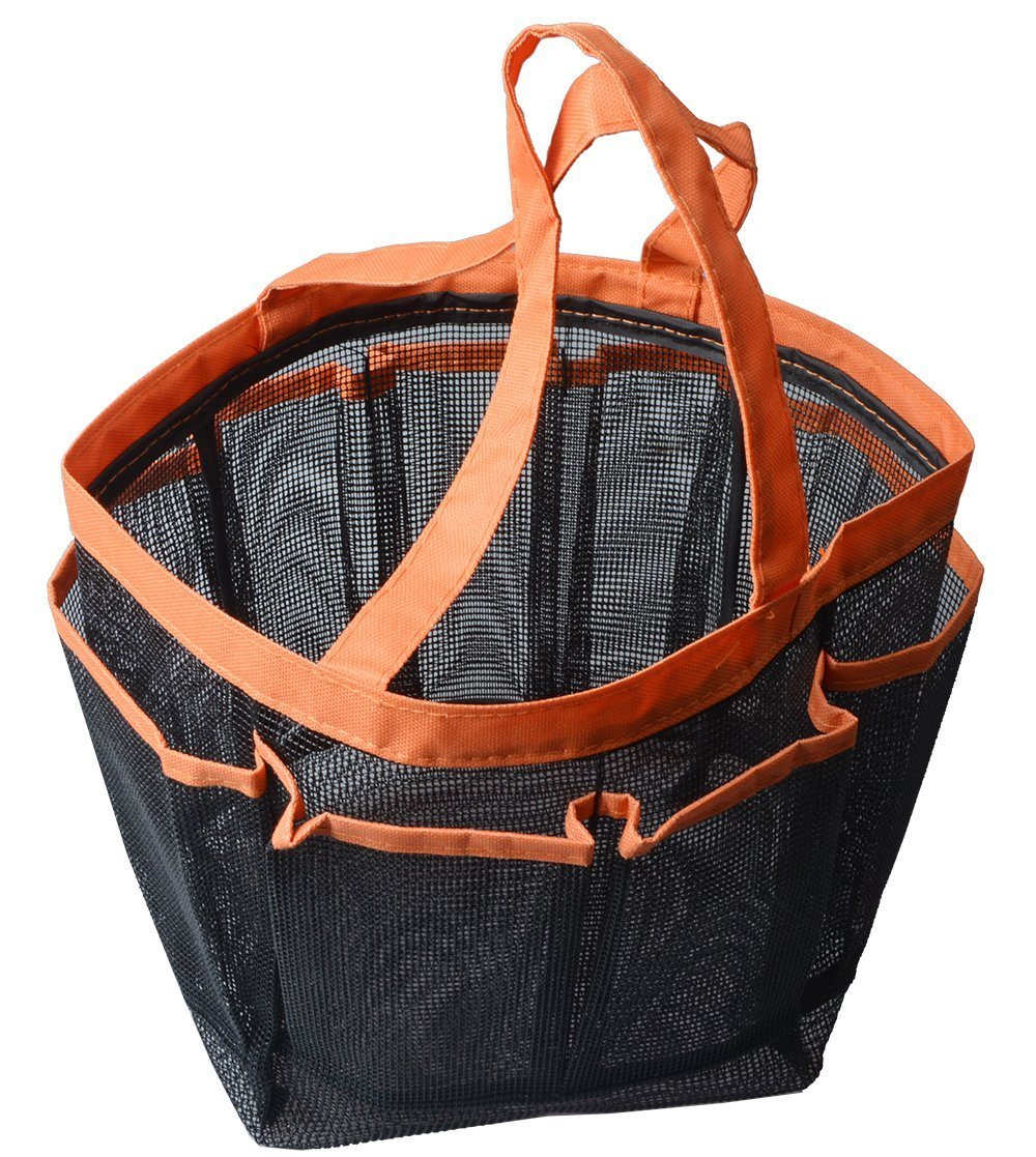 Shop for Sinland Mesh Shower Caddy Quick Dry Shower Tote Bag Oxford ...