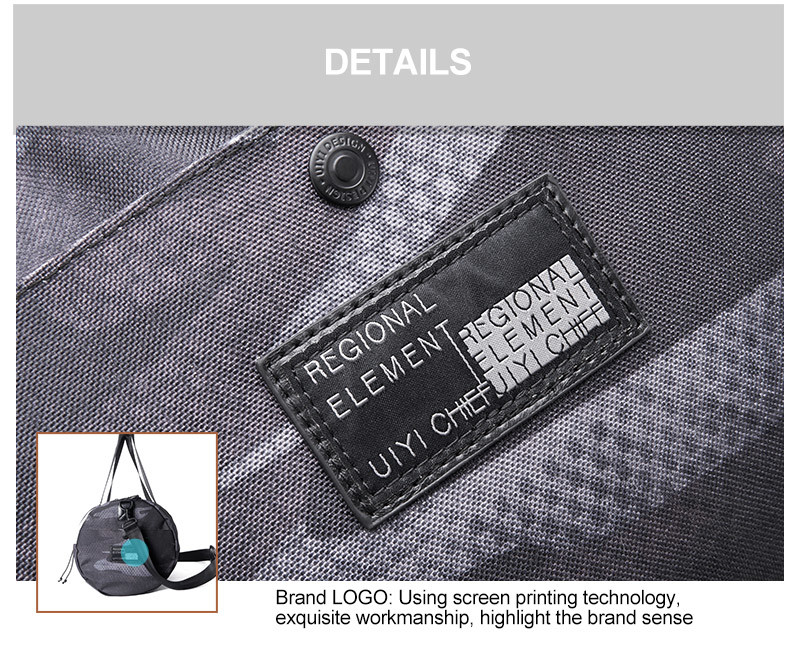 Shop For Uiyi Brand 2018 Male Waterproof Large Bag With