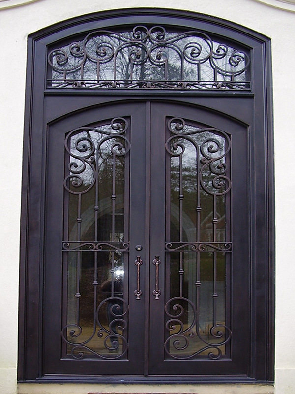 Shop For Simple Single Iron Entry Door With Square Top