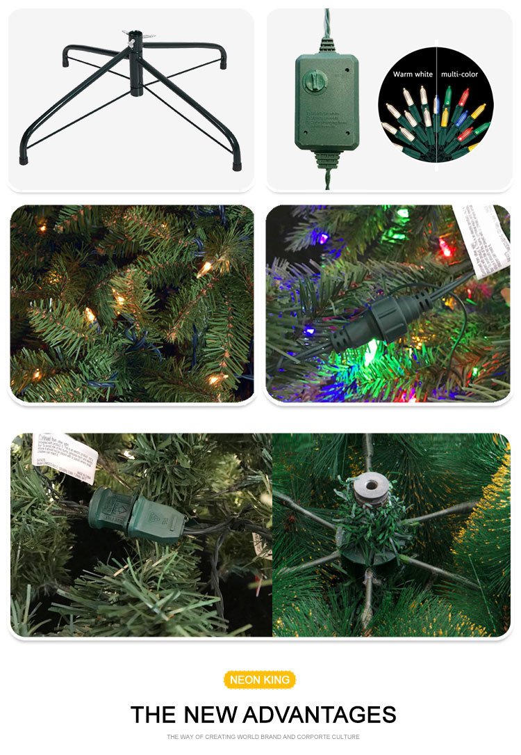 Shop for Morning Star 9 Foot Dunhill Fir Tree Christmas Tree With ...
