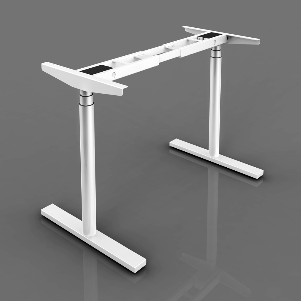 Adjustable Standing Desk Add On Shop For Electric Round