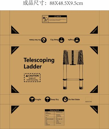 Shop For Wolfwise En131 Telescoping Ladder Aluminum