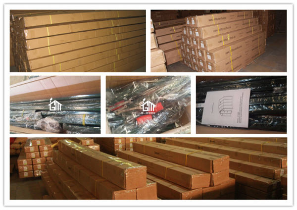 G-More 7m Width Extendable Outdoor Aluminum Frame 10mm Polycarbonate Panels  Hobby Garden Greenhouse(GM32704) 4 Boxes / Carton