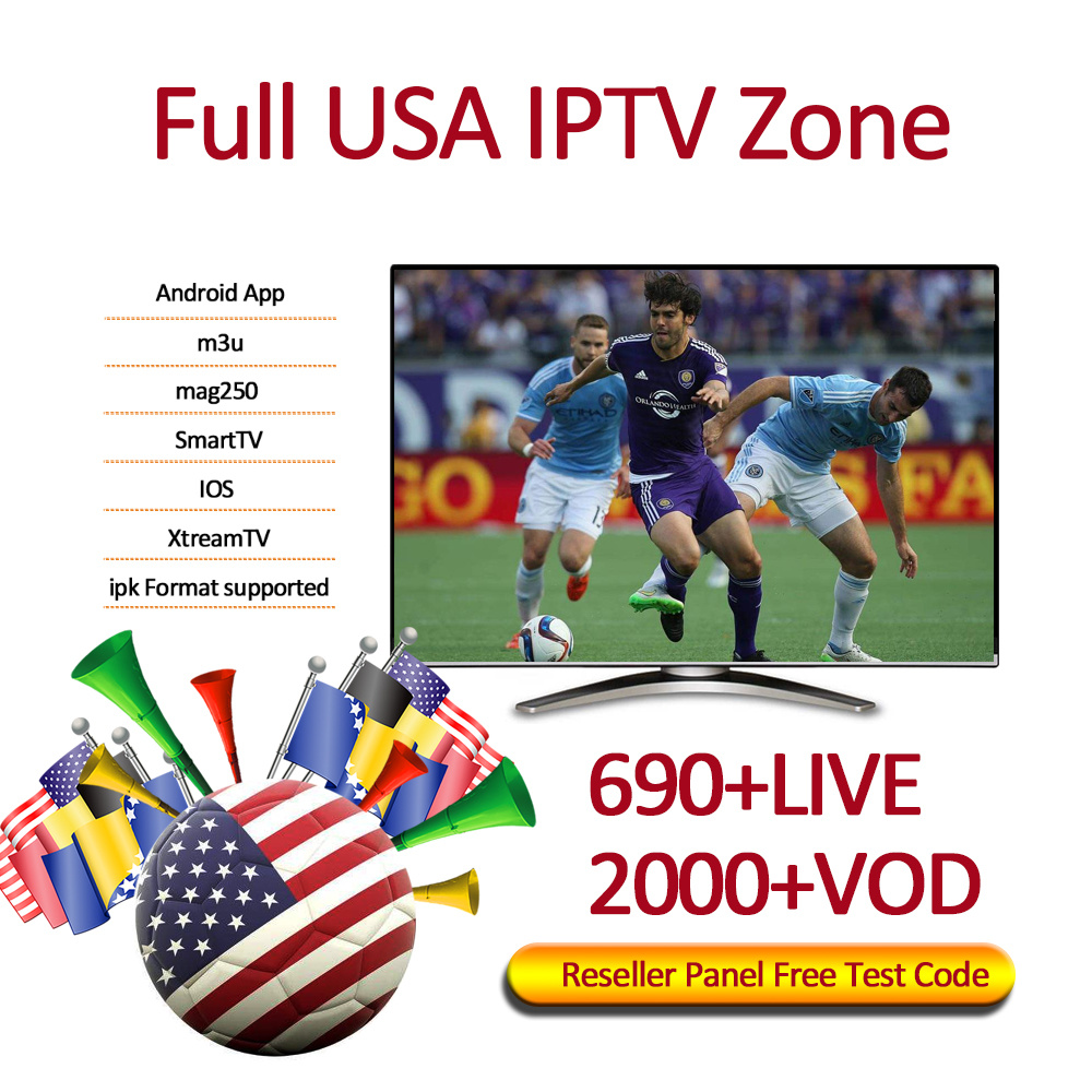Shop for USA IPTV Subscription 1 Month Free Watch With 690+