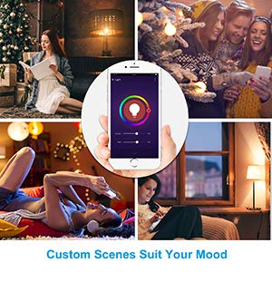 Smart Life- Smart Living LED Lighting Smart Bulb Wi-Fi Remote Control WiFi  2 4G,16 Million Colors Available, Dimmable 1 Piece / Box