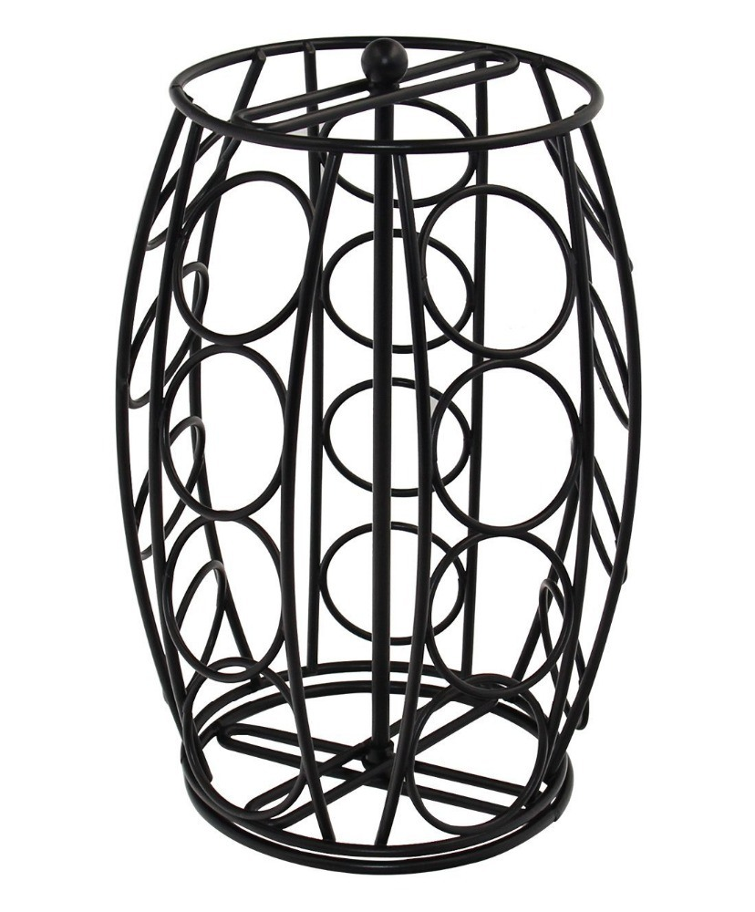 Shop for Metal 20 K Cup Carousel Espresso Pod Holder and Iron Wire ...