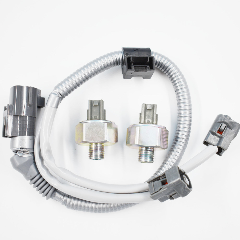 2 Knock Sensors /& harness 89615-12090 for TOYOTA LEXUS Avalon Camry ES300