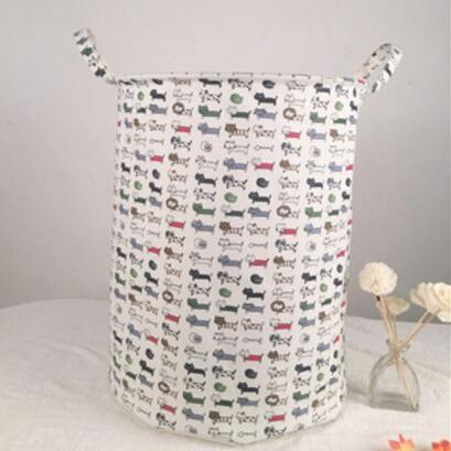 For New Waterproof Laundry Hamper Clothes Storage Baskets Home Barrel Bags Kids Toy Organizer Basket Au644 R At Whole Price