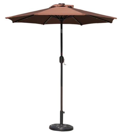 Shop For Sundale Outdoor 7 Ft Solar Powered 24 Led Lighted Patio