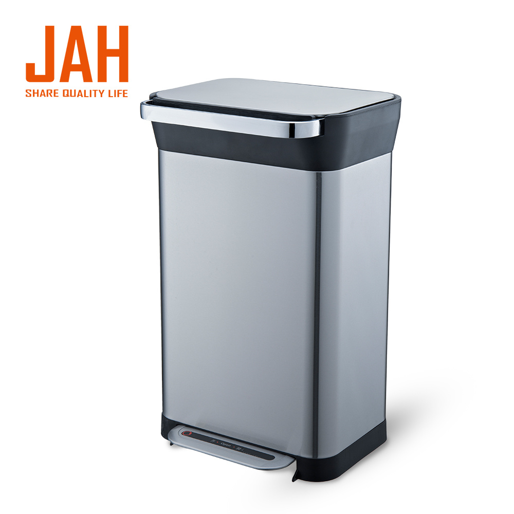 Shop for 50L Rectangle Stainless Steel Compactor Trash Bin. at ...