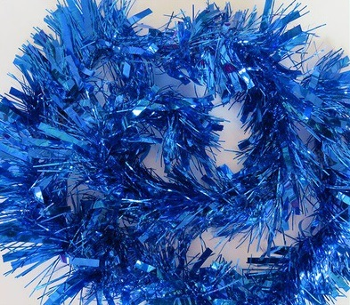 Christmas Tinsel Garland.6 6 Ft Christmas Tinsel Garland Thick And Full Tinsel Sparkly Classic Party Ornaments Hanging Xmas Christmas Tree Ceiling Decorations 4 Inch Wide
