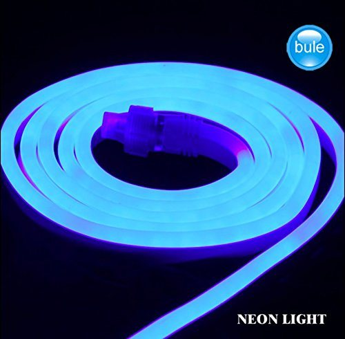 110v 18ft Flexible Neon Light Led Rope Smd2835 Strip Decorations Party Wedding Diy Extendable End To Connectors