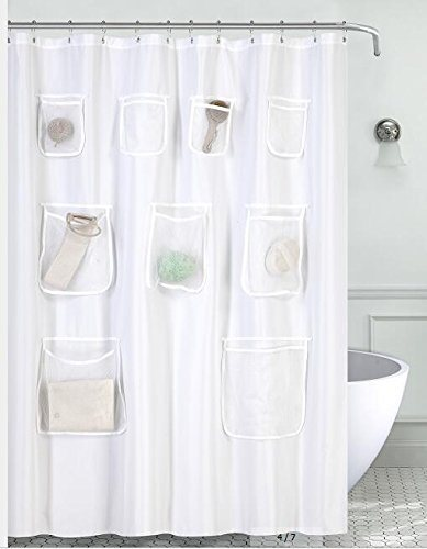 Shop For Water Proof Mildew Resistant Fabric Shower Curtain Liner