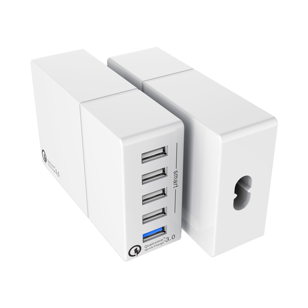 Shop For Universal Multi Port Charging Station Desktop Usb Charger 52w Smps Ac Dc Adapter At Wholesale Price On