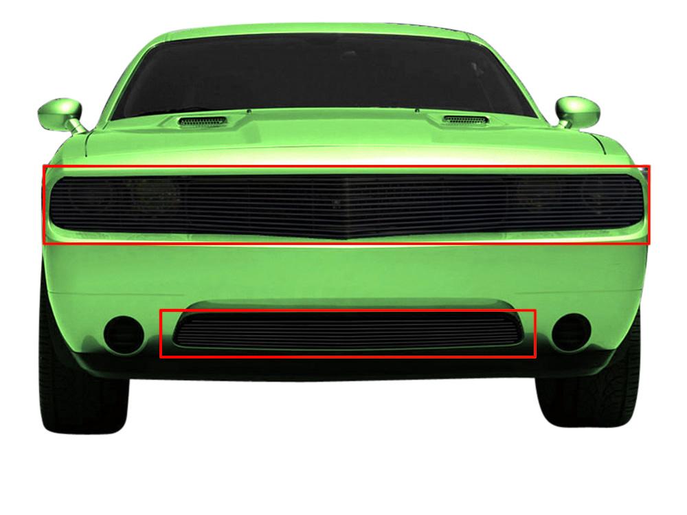SCC Billet Grille Insert for 2011-2014 Dodge Challenger