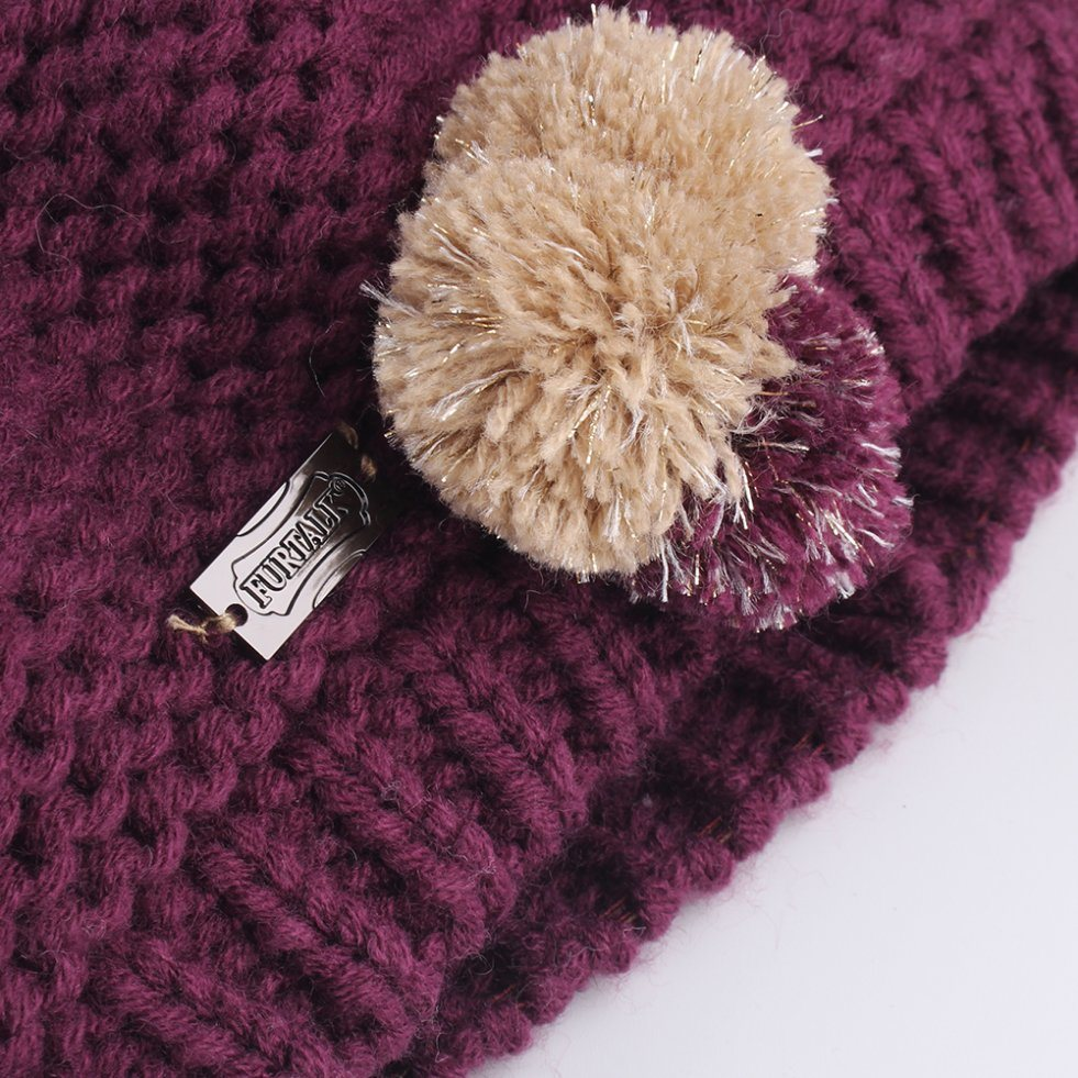 9bd248a5966f7 Shop for FURTALK Kids Winter Hat Scarf Set Knit Beanie Beret Hats for Girls  Scarves CH006 at Wholesale Price on Crov.com