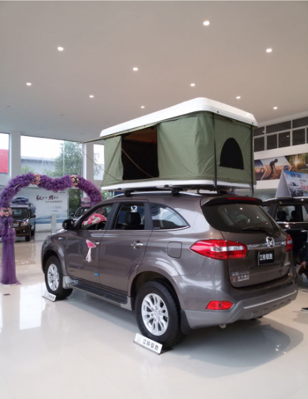SUV Gazebo Tent Hard Shell Roof Top Tent 1 Piece / Carton
