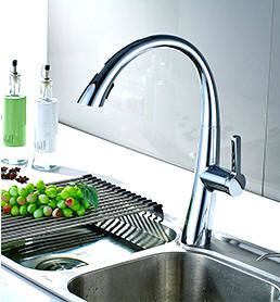 Chrome Kitchen Sink Shop for flg hot sale oil rubbed bronze chrome kitchen faucet swivel flg hot sale oil rubbed bronze chrome kitchen faucet swivel spout sink tap deck mounted pull workwithnaturefo