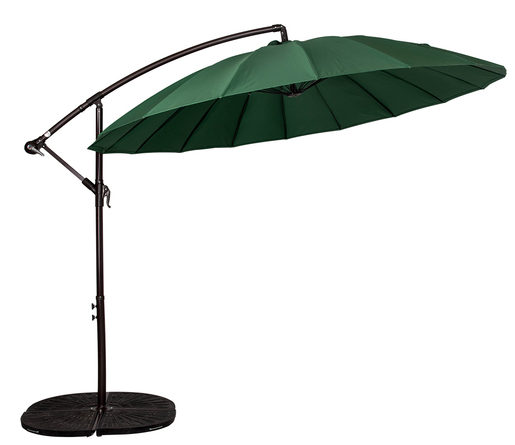 Shop for Sundale Outdoor 9ft Aluminum Offset Patio Umbrella with Crank and Cross Bar Set Cantilever Umbrella for Deck Garden Backyard 18 Fiberglass Ribs ...  sc 1 st  Crov.com & Shop for Sundale Outdoor 9ft Aluminum Offset Patio Umbrella with ...