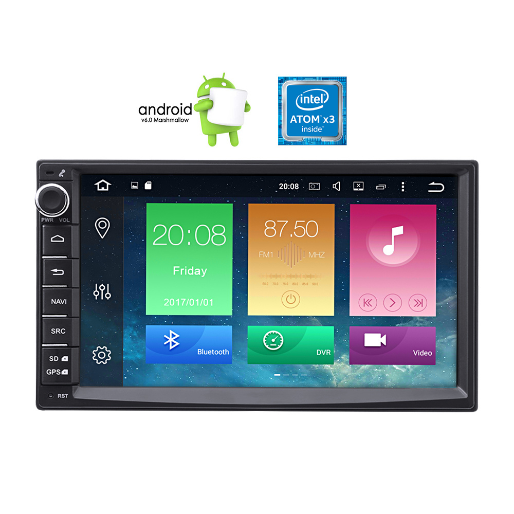 Shop For Android 60 Car Radio Double Din With Gps Navigation 7 Inch Wire Harness W Nav Output Stereo Kits Audio Wiring Harnesses In Dash High Definition Video Player Touch Screen 1080p Fm Am Rds