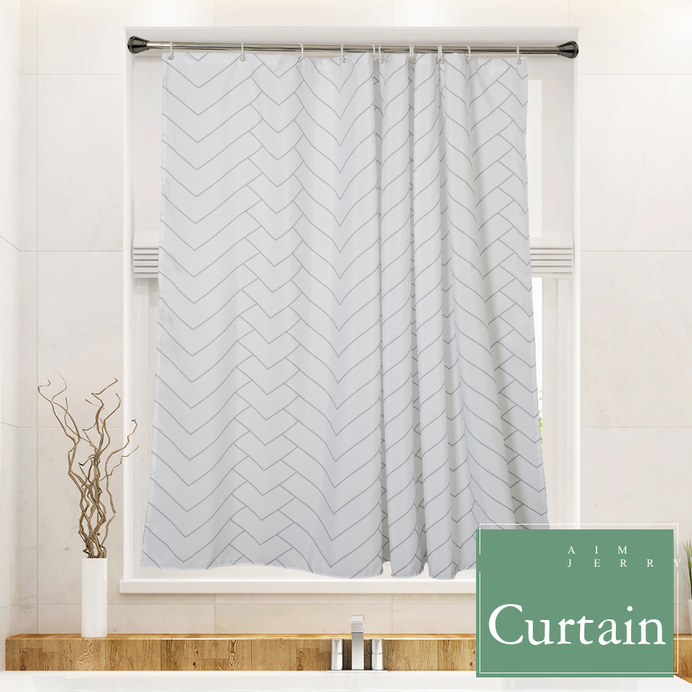 Use It Water Repellant Polyester Fabric And Weighted Hem The Shower Curtain Lets You Enjoy A Fresh Clean Environment Every Time