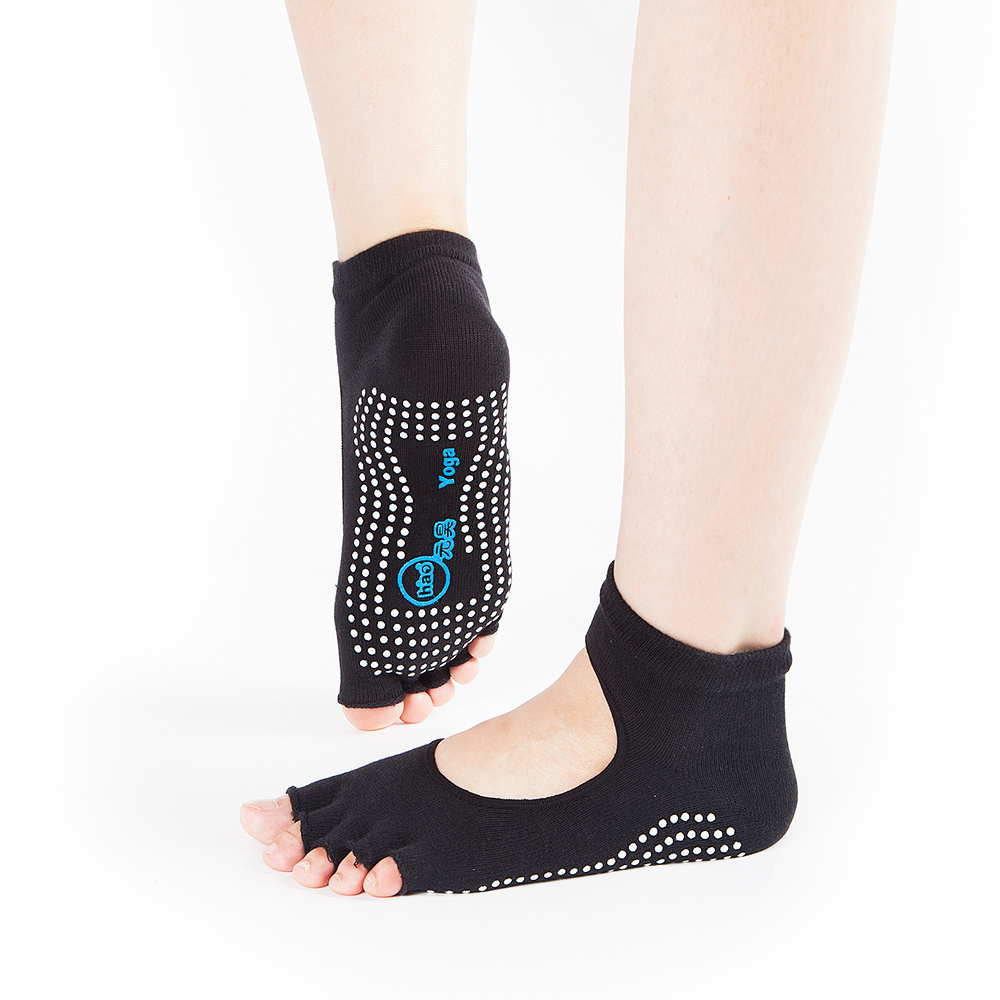df287647a Shop for Yhao Professional Non Slip Yoga Women Pilate for Dancing Backless  Toeless Socks and Glove Set with Grip at Wholesale Price on Crov.com