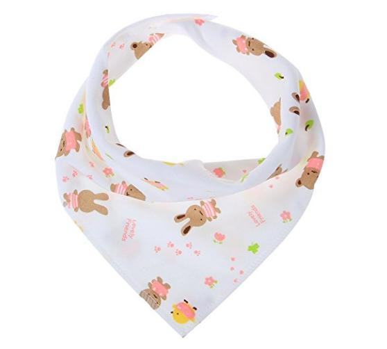 Shop For Labebe Baby Bandanna Bibs Drool Bury Bibs For Girls 10 Pack
