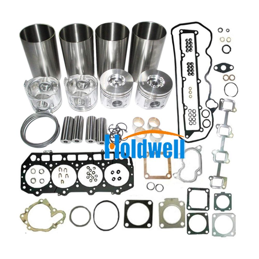 Holdwell Isuzu 3LD1 Overhaul Rebuild Kit With Piston Ring Head Gasket Main  Rod Bearing Set 1 Set / Carton