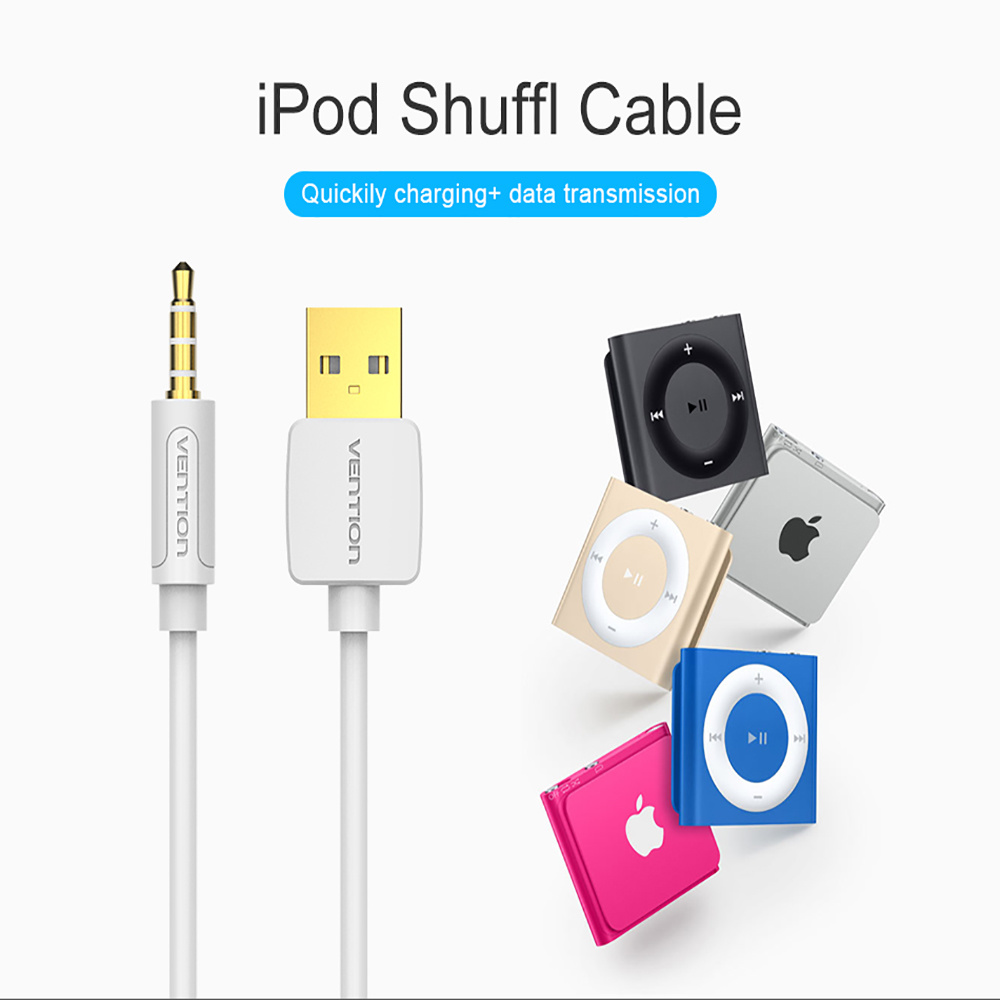 Shop For Ipod Shuffle Cable Vention 35mm Jack To Usb 20 Charger Wiring Diagram Data Mm Audio Headphone Adapter Cord Apple 3rd 4th 5th 6th 7th 16ft 05m