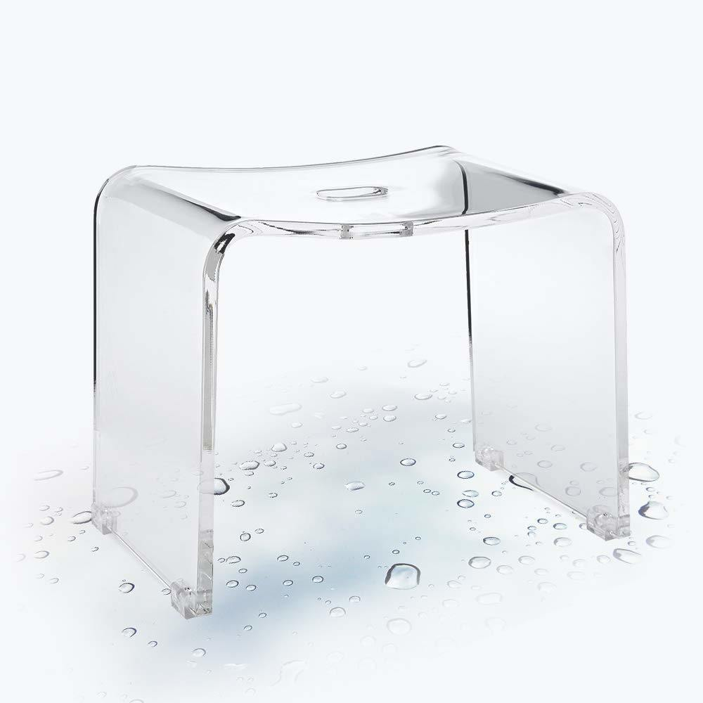 Shop for InnoCrossover Backless Shower Bench Stool Chair for